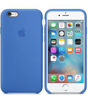 "Apple Silicone Case 7|8 №3 ""Royal Blue"""