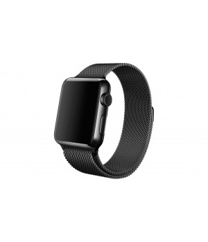 Milanese Loop Apple Watch Magnetic 38mm - Black