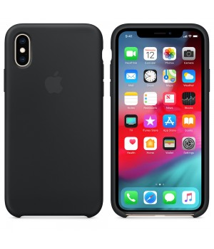 Apple Silicone Case X/XS Black