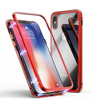 """MAGNETIC CASE iPhone Xs MAX """"RED"""""""