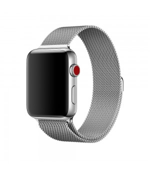 Milanese Loop Apple Watch Magnetic 38mm - Silver