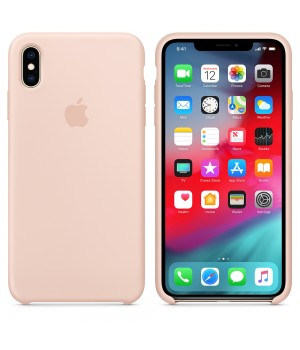 """Apple Silicone Case X №19 """"Pink Sand"""""""