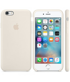 Apple Silicone Case 6/6s Plus Antique White