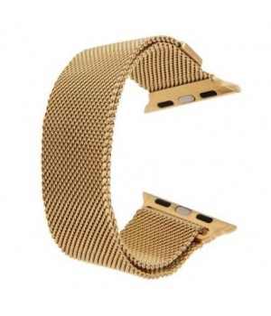 Milanese Loop Apple Watch Magnetic 42mm - Gold