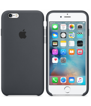 """Apple Silicone Case 6 Plus №15 """"Charcoal Grey"""""""