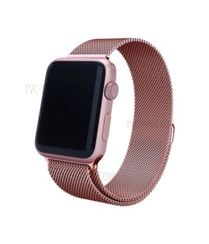 Milanese Loop Apple Watch Magnetic 38mm - Rose Gold