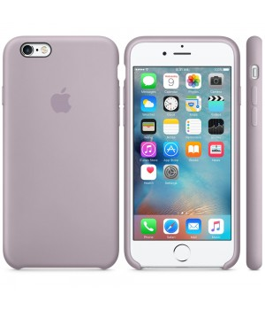 Apple Silicone Case 6/6s Plus Lavender