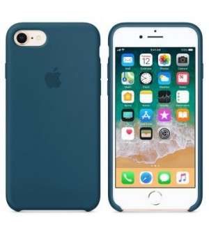 Apple Silicone Case 5/5s/SE Cosmic Blue