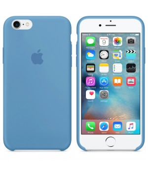 Apple Silicone Case 6/6s Plus Denim Blue