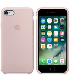 """Apple Silicone Case 6 Plus №19 """"Pink Sand"""""""