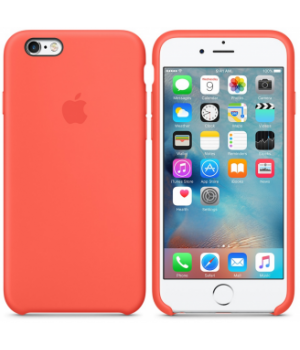 Apple Silicone Case 6/6s Plus Coral