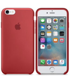 Apple Silicone Case 6/6s Plus Camelia Red