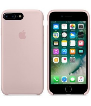"""Apple Silicone Case 7 8 Plus №19 """"Pink Sand"""""""