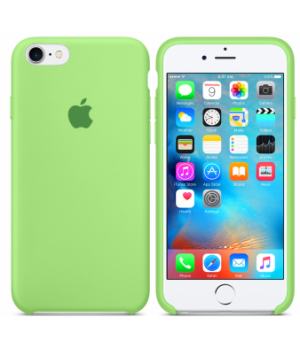 """Apple Silicone Case 7/8 Plus №40 """"Lime Green"""""""
