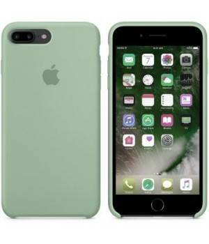 """Apple Silicone Case 7 8 №17 """"Turquoise"""""""
