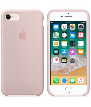 """Apple Silicone Case 7 8 №19 """"Pink Sand"""""""