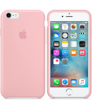 """Apple Silicone Case 7 8 №12 """"Pink"""""""