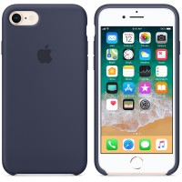 Apple Silicone Case 7/8 Midnighte Blue