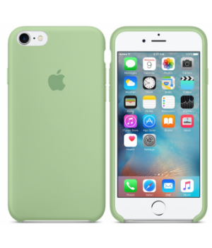 """Apple Silicone Case 7 8 №1 """"Mint"""""""