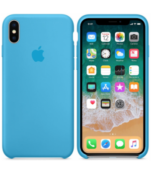 Apple Silicone Case X/XS Blue