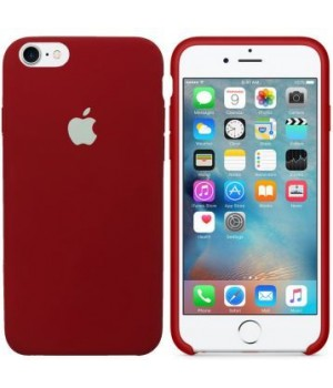 Apple Silicone Case X/XS Dark Red